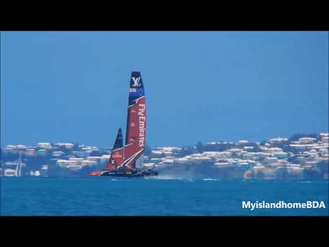 RTB   Emirates Team New Zealand ends their sailing for the day