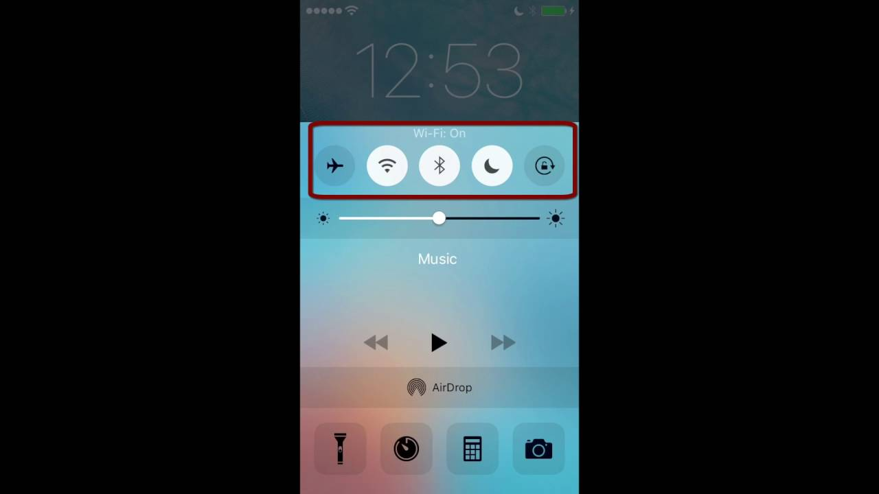 How to turn on or off airdrop for iphone or ipad youtube how to turn on or off airdrop for iphone or ipad ccuart Choice Image