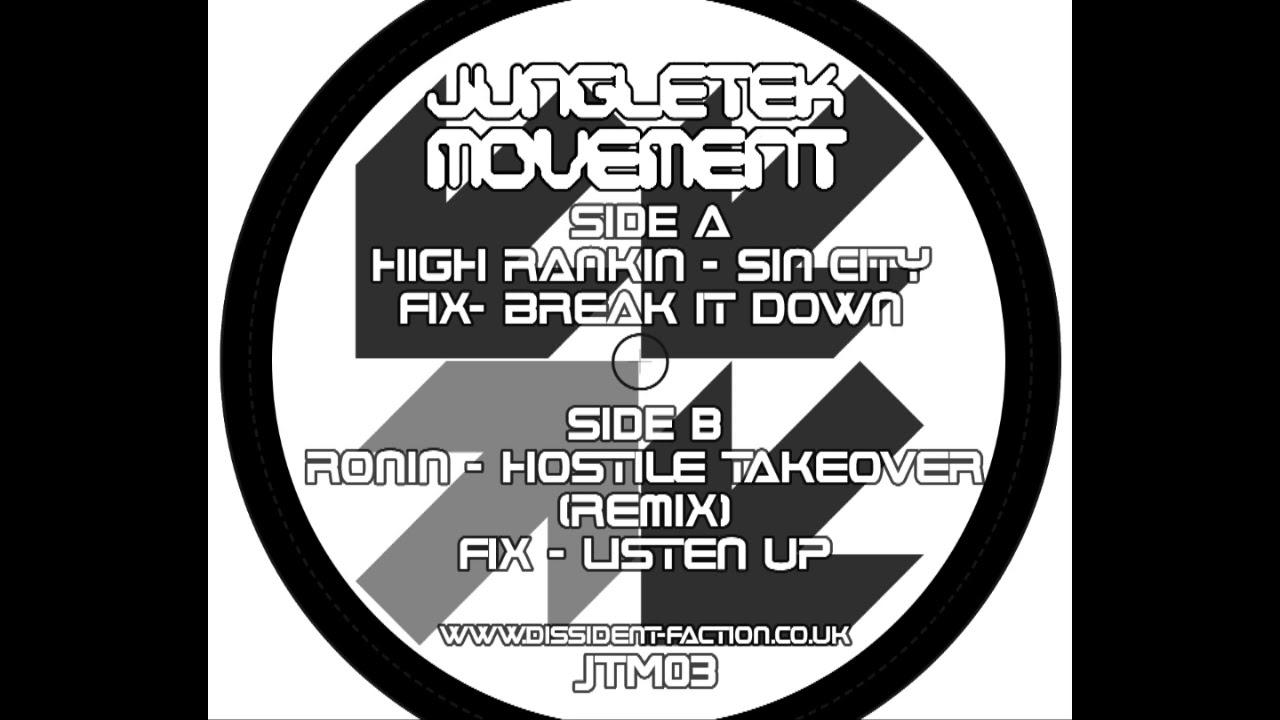 Ronin  Hostile Takeover remix
