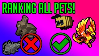Hypixel Skyblock: Which pets SHOULD YOU craft?