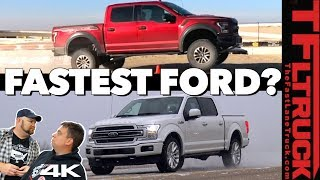 What's Ford's Most Badass Truck: 450 HP Raptor or Limited? No, You're Wrong! Ep.6
