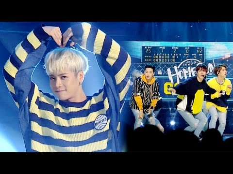 《EMOTIONAL》 GOT7(갓세븐) - HOME RUN @인기가요 Inkigayo 20160424