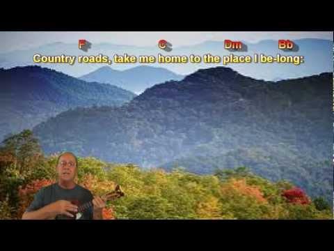 Country Roads (Take Me Home) Chords & Lyrics
