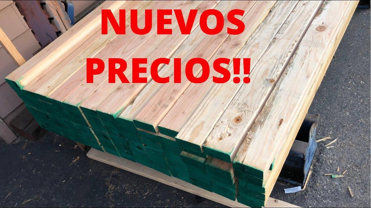 Download UPDATED!!! precios de la Madera Buenas noticias