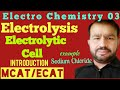 Gambar cover ElectroChemistry 02; Electrolysis OR ElectroChemical Cell ; introduction - product at Electrode