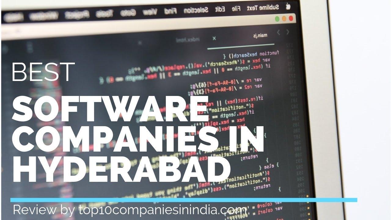 Top 10 Software companies in Hyderabad | Best IT Companies Hyderabad 2018