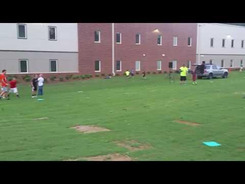 Kickball at Matthews Charter Academy!
