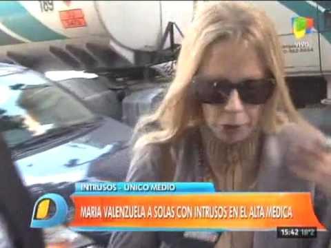 María Valenzuela ya fue dada de alta: Estoy cada día mejor
