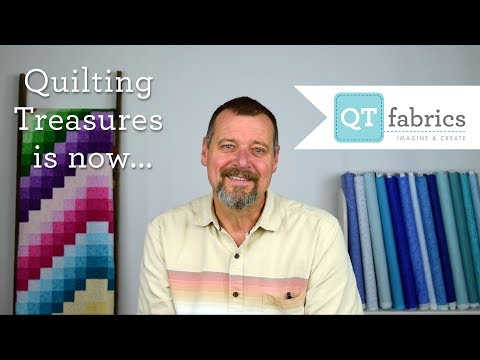 Quilting Treasures is now QT Fabrics!