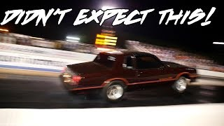CARRIED THE FRONT WHEELS PAST THE 60 FOOT!!! SICK NITROUS MONTE CARLO DOING WORK!