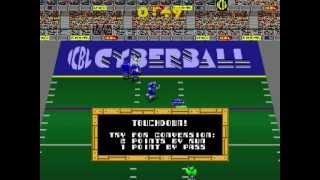 Atari Tournament Cyberball 2072 MAME arcade gameplay
