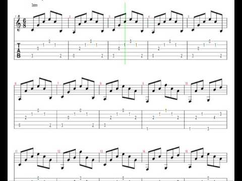 ♫ Leonard Cohen - Hallelujah SLOW ♫ SLOW Guitar Lesson ♫ !!! ORIGINAL NOTES & TABS !!!