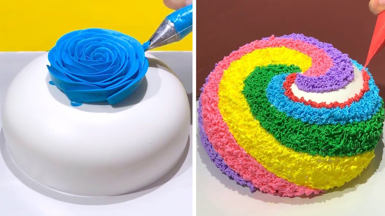 Stunning Cake Decorating Technique Like a Pro | Most Satisfying Chocolate Cake Decorating Ideas #2