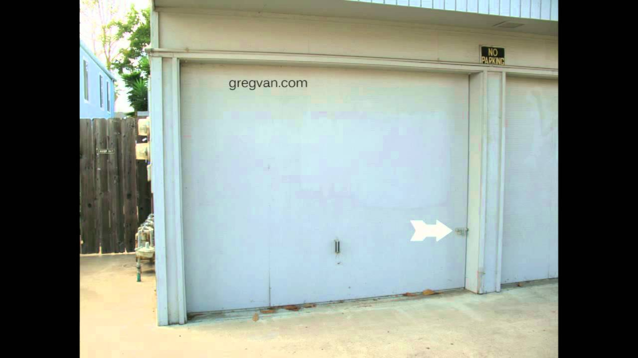 How To Secure Old Wood Garage Doors Home Security Youtube