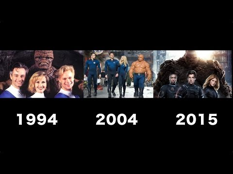 Fantastic Four Transformation Movie [1994 - 2004 -2015]