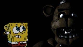 BoB Esponja no Five Nights at Freddy's - Noite 1!