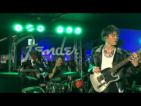 "MIYAVI ""What's My Name?"" @ Fender Japan Secret Live, Isetan Shinjuku Tokyo JAPAN."