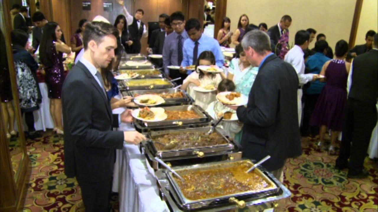 Indian Wedding Reception Food And Menu At Delta Chelsea