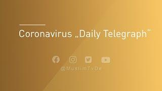 """Coronvirus - """"Daily Telegraph"""""""