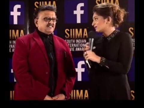 Singers Mano and SPB Live Chit Chat in VIVO SIIMA Awards 2017
