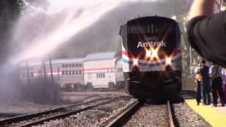 Amtrak test train in Tallahassee FL!!!