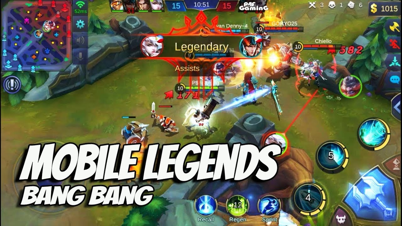"mobile legends:bang bang ""layla de lima"" gameplay mvp"