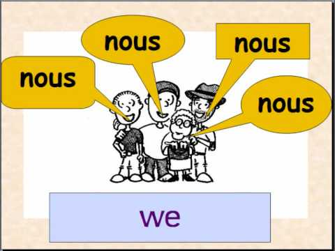 Learn French subject pronouns - YouTube