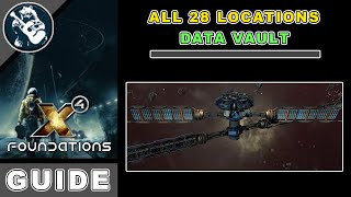 X4 Foundations Guide: All 28 Data Vault Location & Historican Achievement (Beginner x4 Guide)