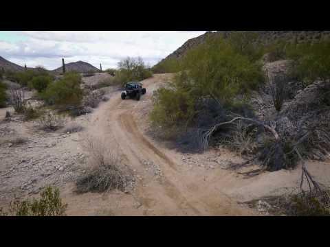 Rainbow Valley, Arizona - Maverick X3 XRS - DJI Phantom 4