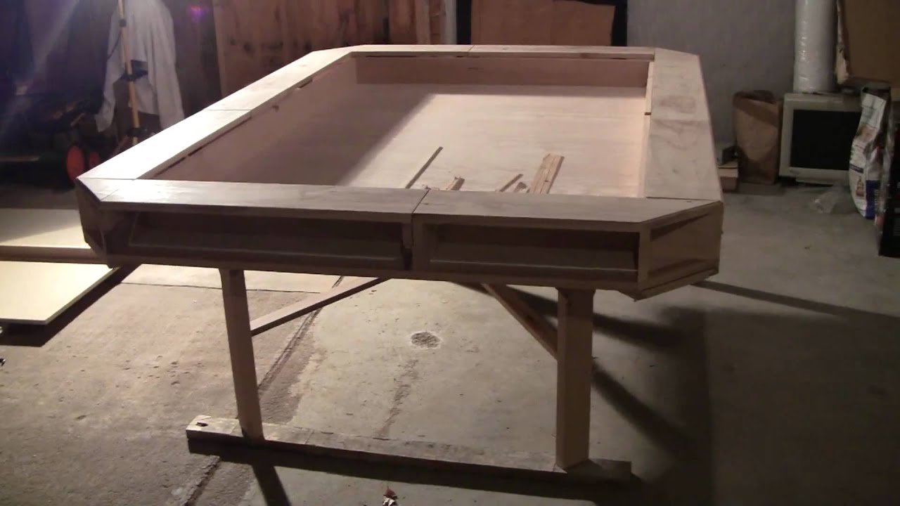 Exceptional Gaming Table   Nearly Complete   YouTube
