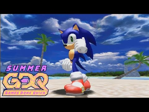Sonic Adventure DX: Director's Cut Speedrun by JustFlandre in 33:32 - SGDQ2018