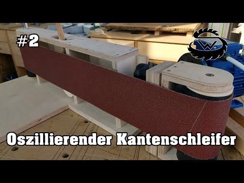 Oszillierenden Kantenschleifer Selber bauen   Oscillating Edge Sander DIY   #Part 2