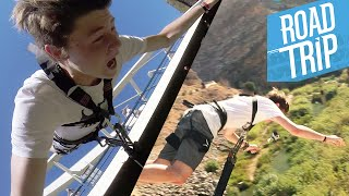 BUNGEE JUMPING WOHOOO!! :D | #ROADTR7P Tag 6 | Dner