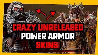 Fallout 76 | FUTURE Power Armor Skins WORTH BUYING.