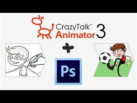 Von der Photoshop-Zeichnung zur Animation - CrazyTalk Animator 3 ...