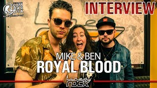 ROYAL BLOOD - interview @Linea Rock 2017 by Barbara Caserta