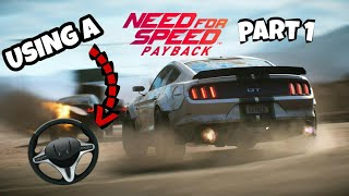 Need for speed - Using a wheel PART 1