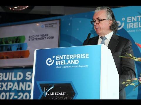 Enterprise Ireland reveals 2017-2020 strategy