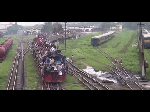 Поезд в Индии просто ужас