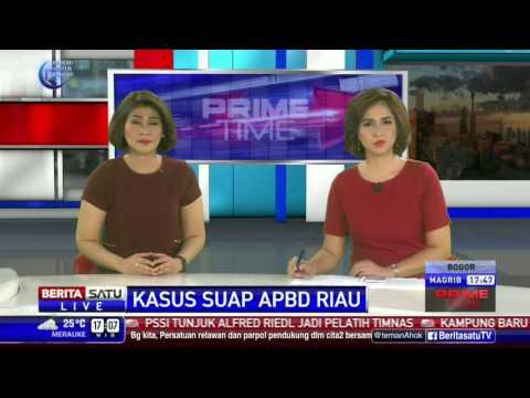 Pemeriksaan Perdana Bupati Rokan Hulu Sebagai Tahanan KPK