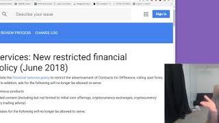 ASL Crypto Tips: Google Bans Crypto/ICOs ADS