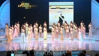 Pengumuman 6 Kategori Fast Track - Malam Puncak Miss Indonesia 2015 Seg 2