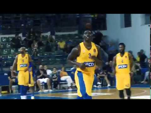 OPAP tournament: Johnny O'bryant's highlights vs Panathinaikos