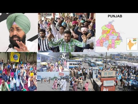 Contract staff of Punjab Roadways, PRTC go on indefinite strike; 2,500 buses hit
