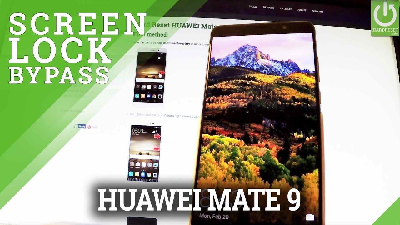 Hard Reset HUAWEI Mate 9 - HardReset info