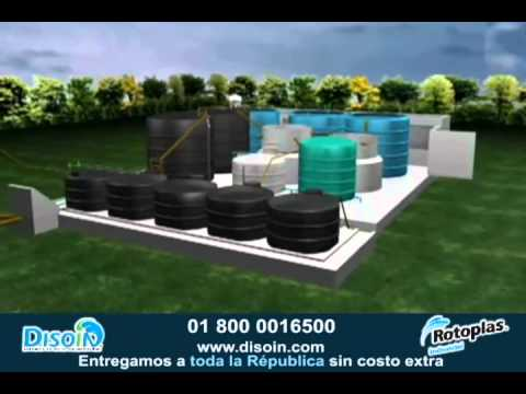 Funcionamiento de planta de tratamiento de agua con equipo - Tratamiento del agua ...