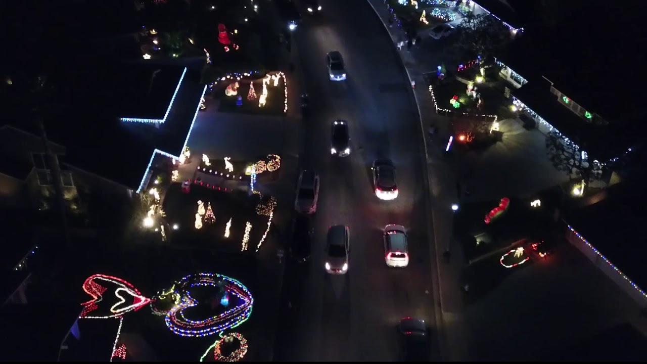 Brea Christmas Lights.Brea Eagle Hills Christmas Lights 2017
