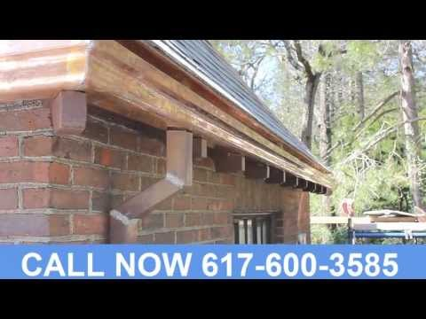 Custom Copper Gutters Middlesex County MA (617) 600-3585