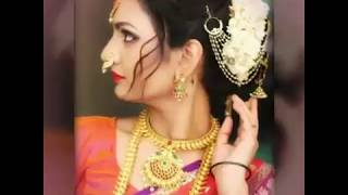 Treditional Maharashtrian Festival Hair Style Collection||Beautiful Functional Hairstyle||