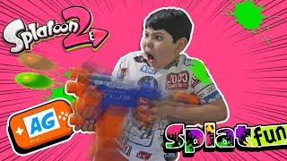 Manuel entrenando para Splatfun de Splatoon 2